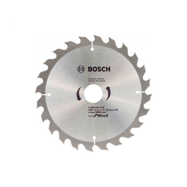 Пильный диск Bosch ECO WO 190x30 24 зуб. (2608644376)